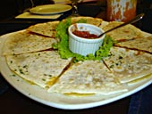 quesadillas nissakia