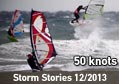 Nissakia Windsurfing storm stories